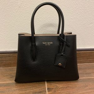 kate spade eva small leather satchel NWT